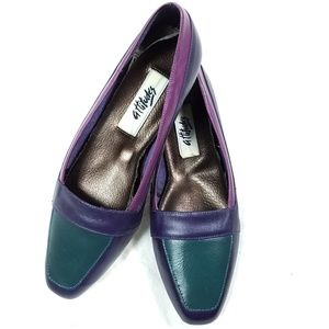 Vintage Attitudes Color Block Loafers